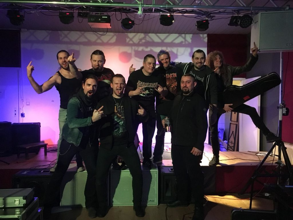 Gruppenfoto Stage DoubleH